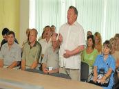 На заседании профсоюзного комитета