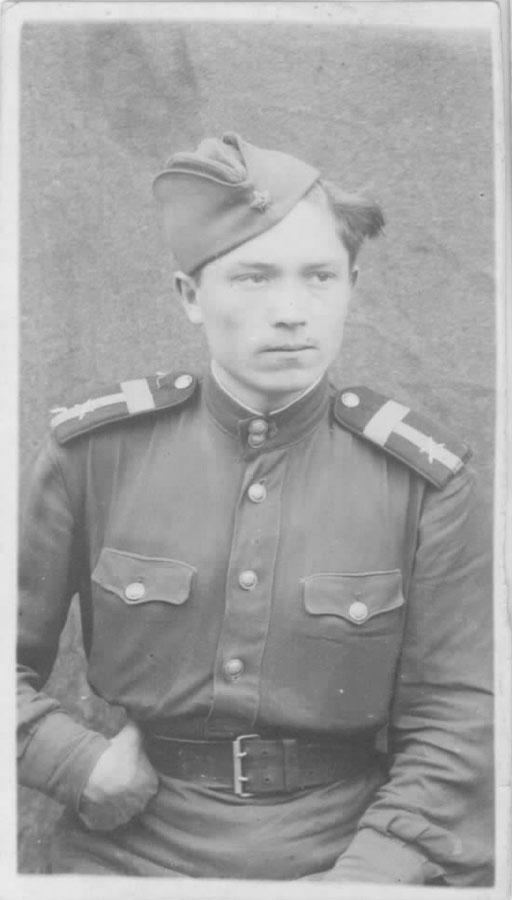 Иван Ушаков (апрель 1945 г.)